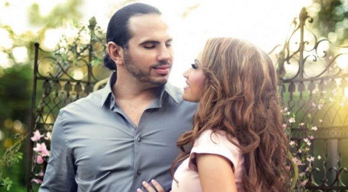 Matt Hardy and his wife Rebecca welcome their third child
