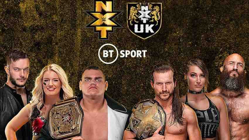 NXT and NXT UK to broadcast on BT Sport in the UK and Ireland