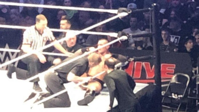 Randy Orton reportedly injured at WWE Live Event