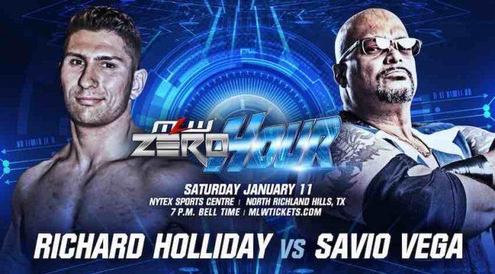 Savio Vega to wrestle at MLW Zero Hour event in Dallas, Texas