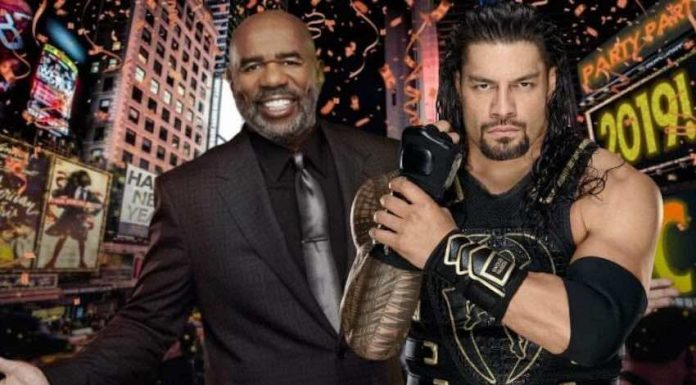"Roman Reigns to compete during ""FOX's New Year's Eve with Steve Harvey"""