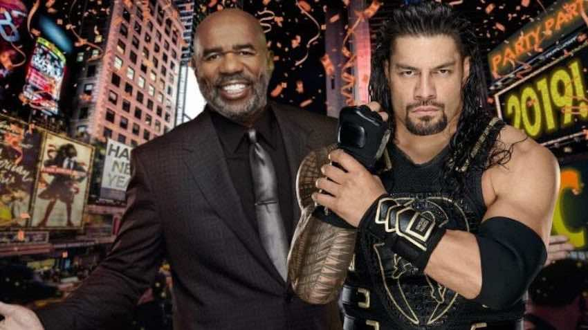 """Roman Reigns to compete during """"FOX's New Year's Eve with Steve Harvey"""""""