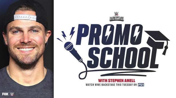 """""""Arrow"""" star Stephen Amell to appear on WWE Backstage Tuesday night"""