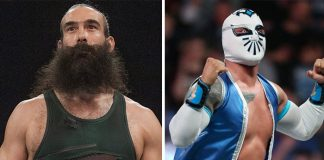 Luke Harper and Sin Cara released