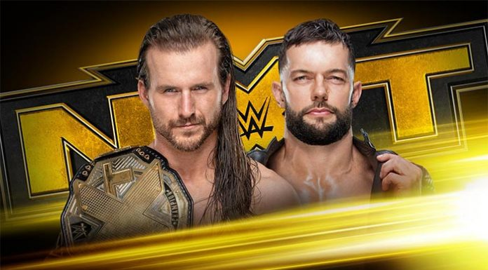 NXT Title on Wednesday