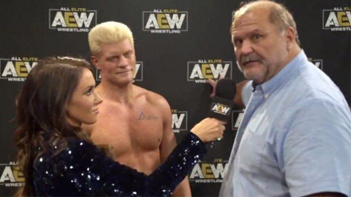 Arn Anderson Cody Rhodes