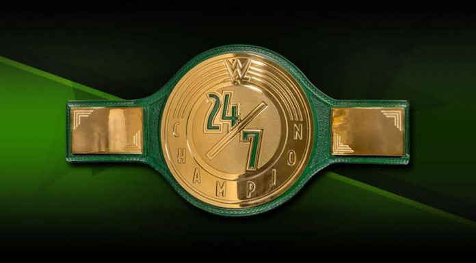 WWE 24/7 Title changes during WWE Live Event at MSG
