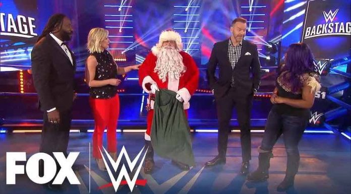 WWE Backstage Ratings December 24