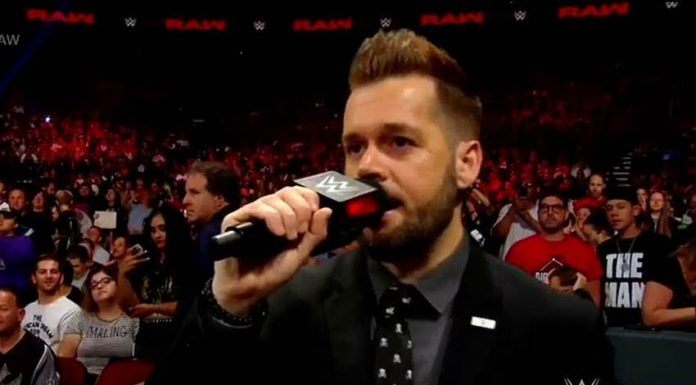 WWE Raw Ring Announcer Mike Rome wins the 24/7 title