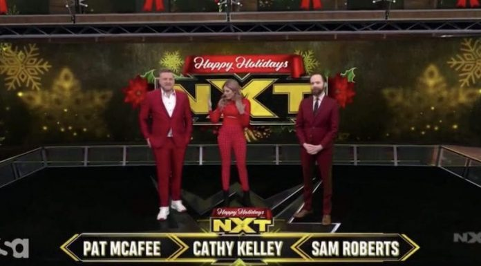 New Year's Day of edition of WWE NXT with guest hosts and more
