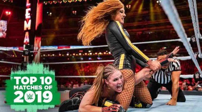 WWE Top 10 matches of 2019 on WWE Network December 30