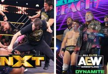 AEW Dynamite and WWE NXT Ratings