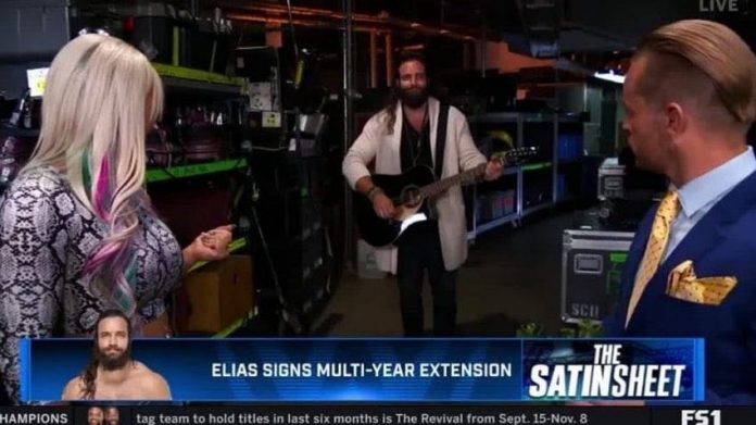 Elias signs a new multi-year deal with WWE
