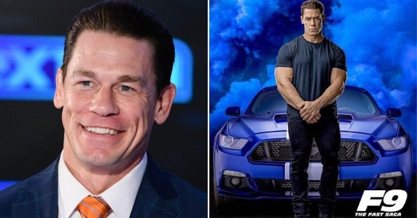"""John Cena reveals first look at his """"Fast and Furious 9"""" Character"""