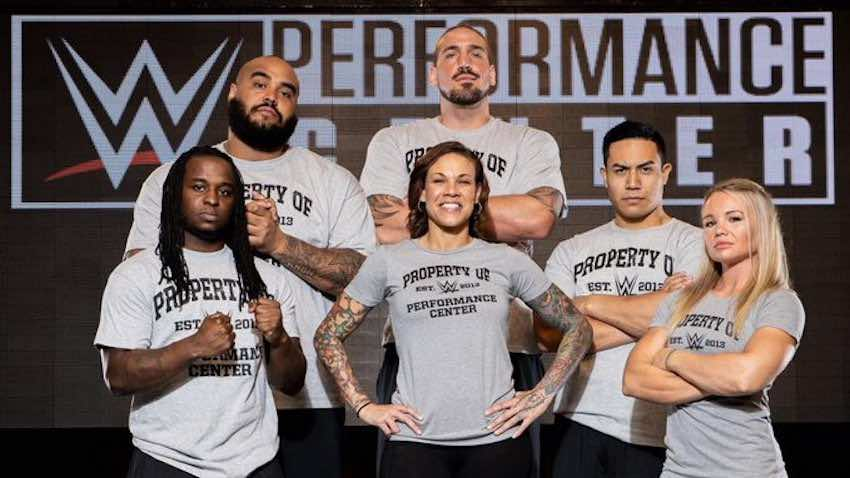 Mercedes Martinez, Jake Atlas and more report to WWE Performance Center