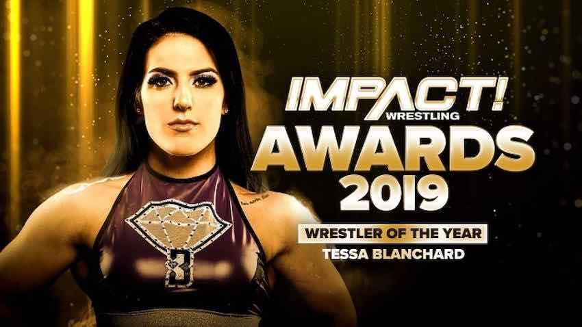IMPACT names Tessa Blanchard Wrestler of the Year for 2019
