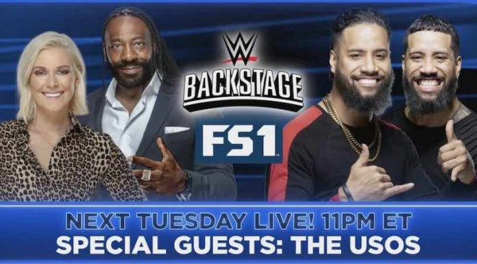 The Usos and Freddie Prinze Jr announced for Tuesday's WWE Backstage