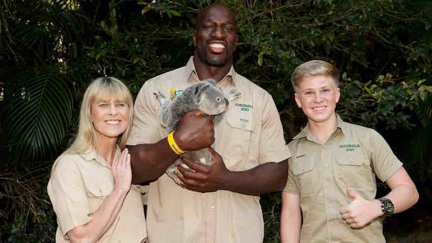 Titus O'Neil and The Florida Aquarium partners with Florida Aquarium to save wildlife from bushfires in Australia