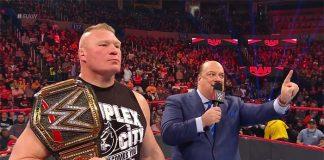 Brock Lesnar in the Royal Rumble