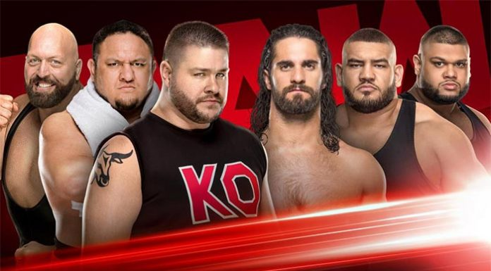 Matches for Raw next week