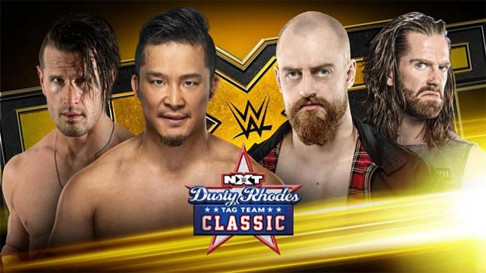WWE NXT matches next week