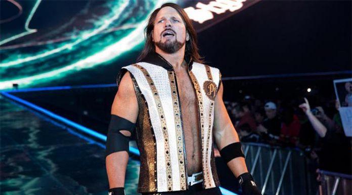 AJ Styles injured