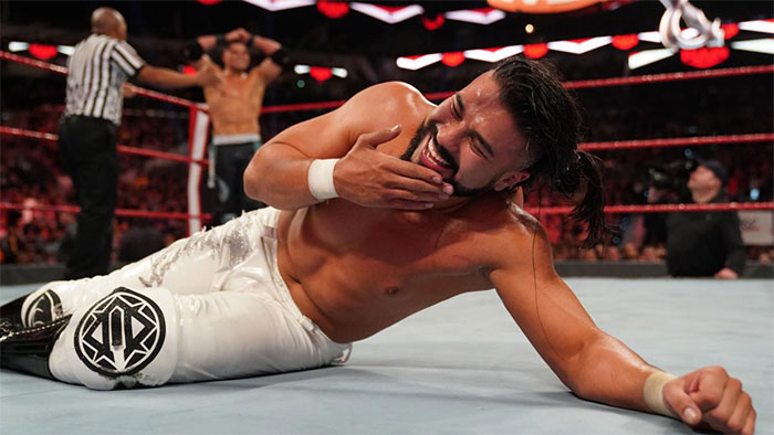 Andrade suspended by WWE