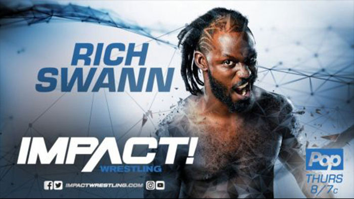 Rich Swann suffers injury
