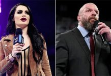 Triple H apologizes to Paige