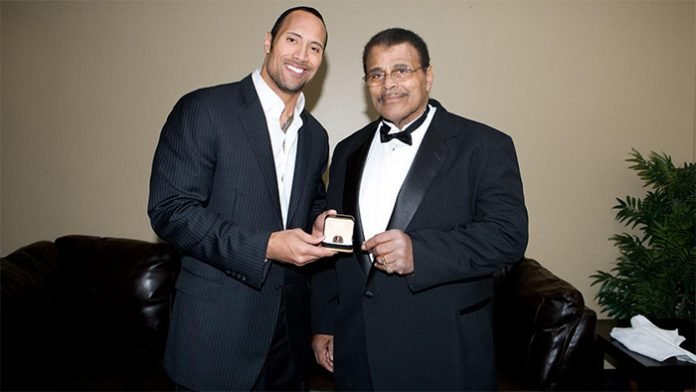 Dwayne Johnson talks about his father