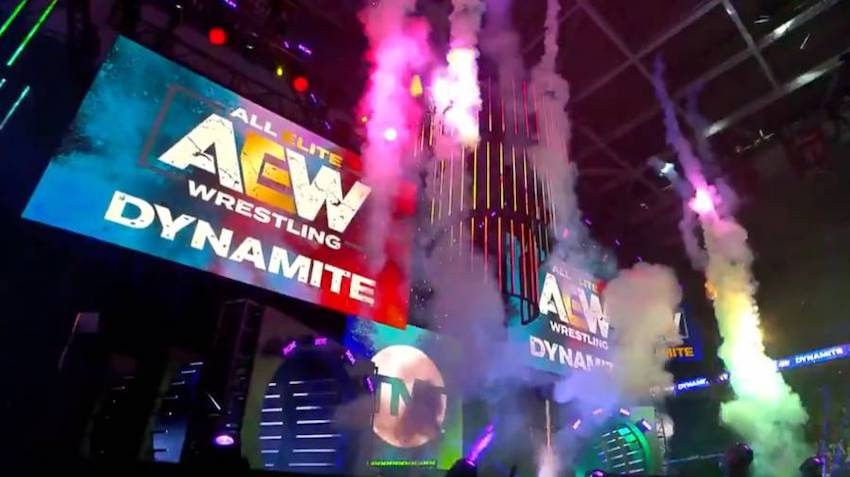 What happened after AEW: Dynamite went off the air