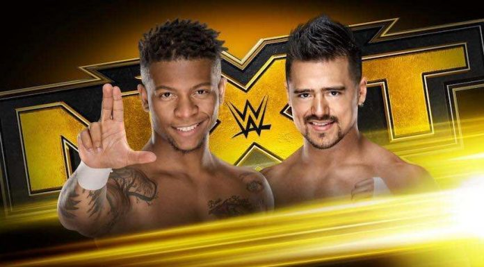 WWE NXT Cruiserweight Number 1 contenders Match Wednesday