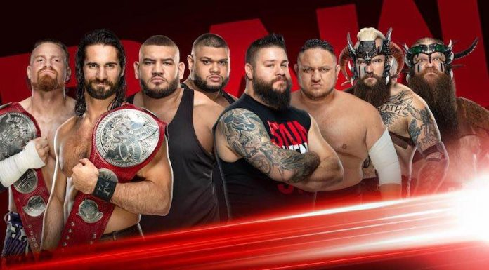 Eight-man tag team match set for Raw