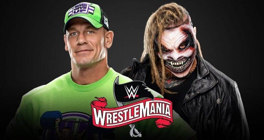 "WWE officially announces John Cena vs. ""The Fiend"" for WrestleMania 36"