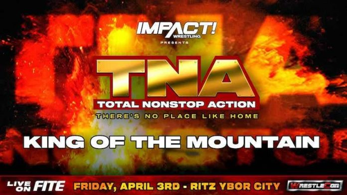 King of the Mountain Match for TNA Themed There's No Place Like Home event