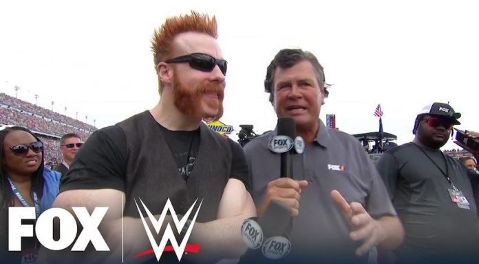 Sheamus serves as honorary pace car driver for 62nd Daytona 500