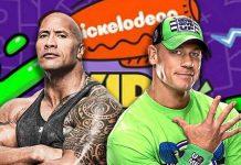 The Rock and John Cena nominated for Kids Choice Awards