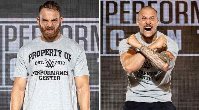 Timothy Thatcher and Killer Kross report to WWE Performance Center