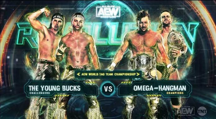 AEW Tag Title Match at Revolution