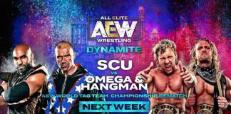 AEW Dynamite upcoming matches