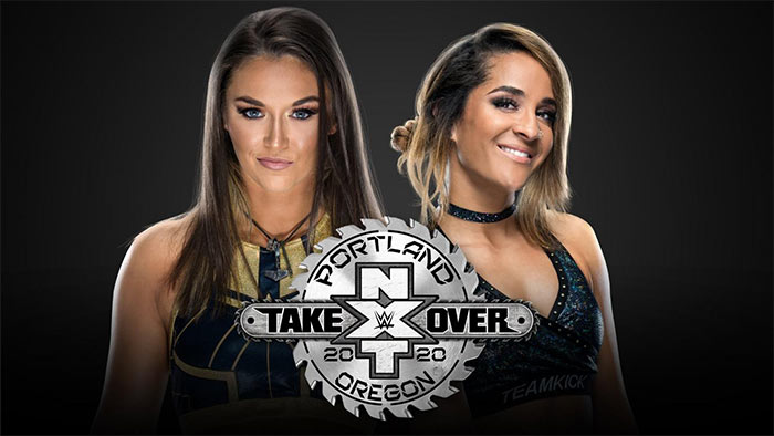 NXT TakeOver: Portland card