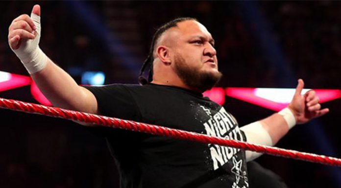 Samoa Joe suffers concussion