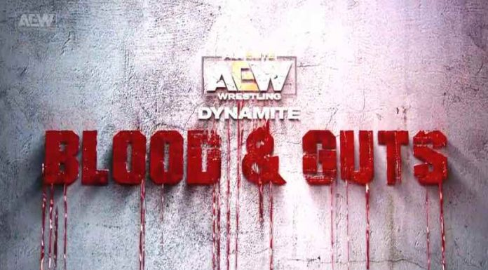 AEW Dynamite: Blood and Guts match for Newark, NJ show on March 25