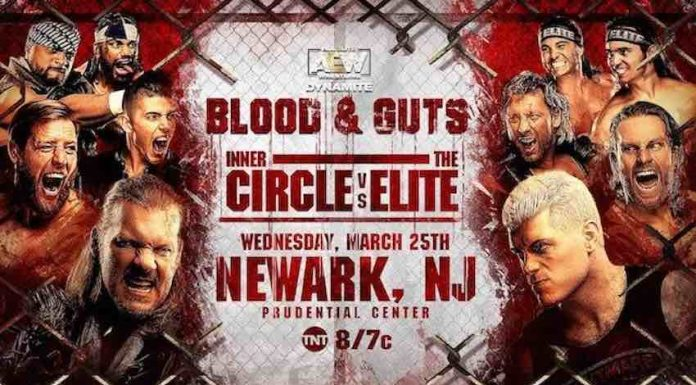 AEW announces main event match for Blood and Guts
