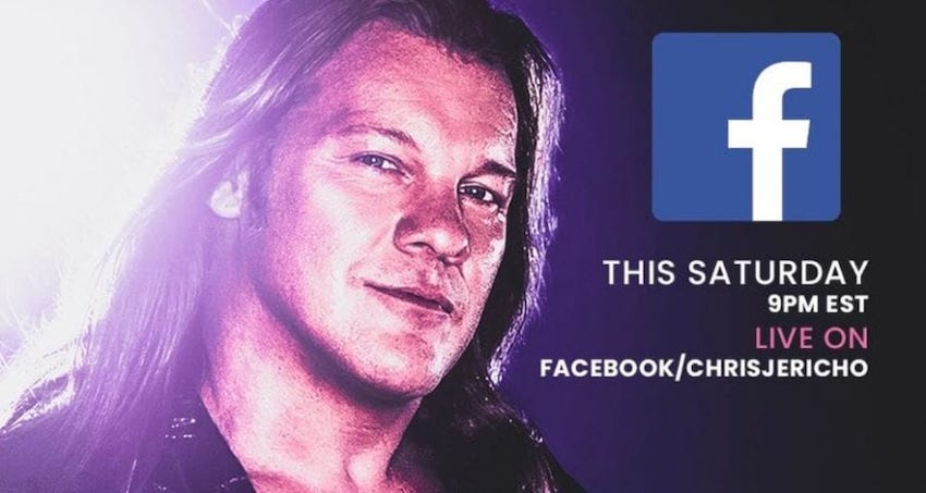 Chris Jericho to host first ever Saturday Night Special on Facebook