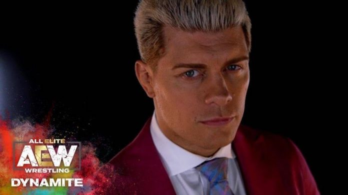 Cody Rhodes to guest commentate on Dynamite