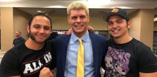 Cody Rhodes and The Young Bucks have set up a texting community