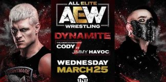 AEW announces Cody vs. Jimmy Havoc for Wednesday's Dynamite