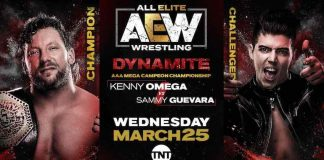 Kenny Omega to defend AAA Mega Title on Wednesday's Dynamite