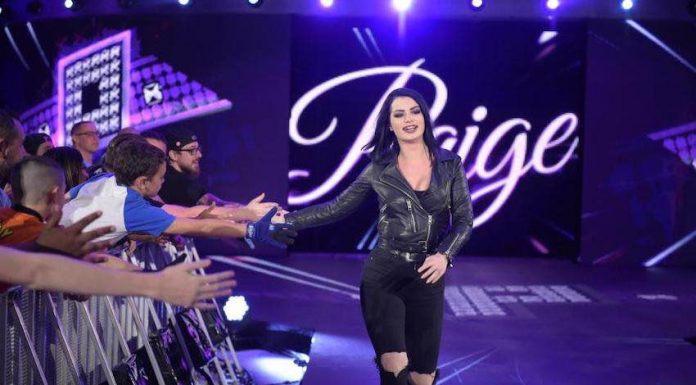Paige provides an update after undergoing emergency